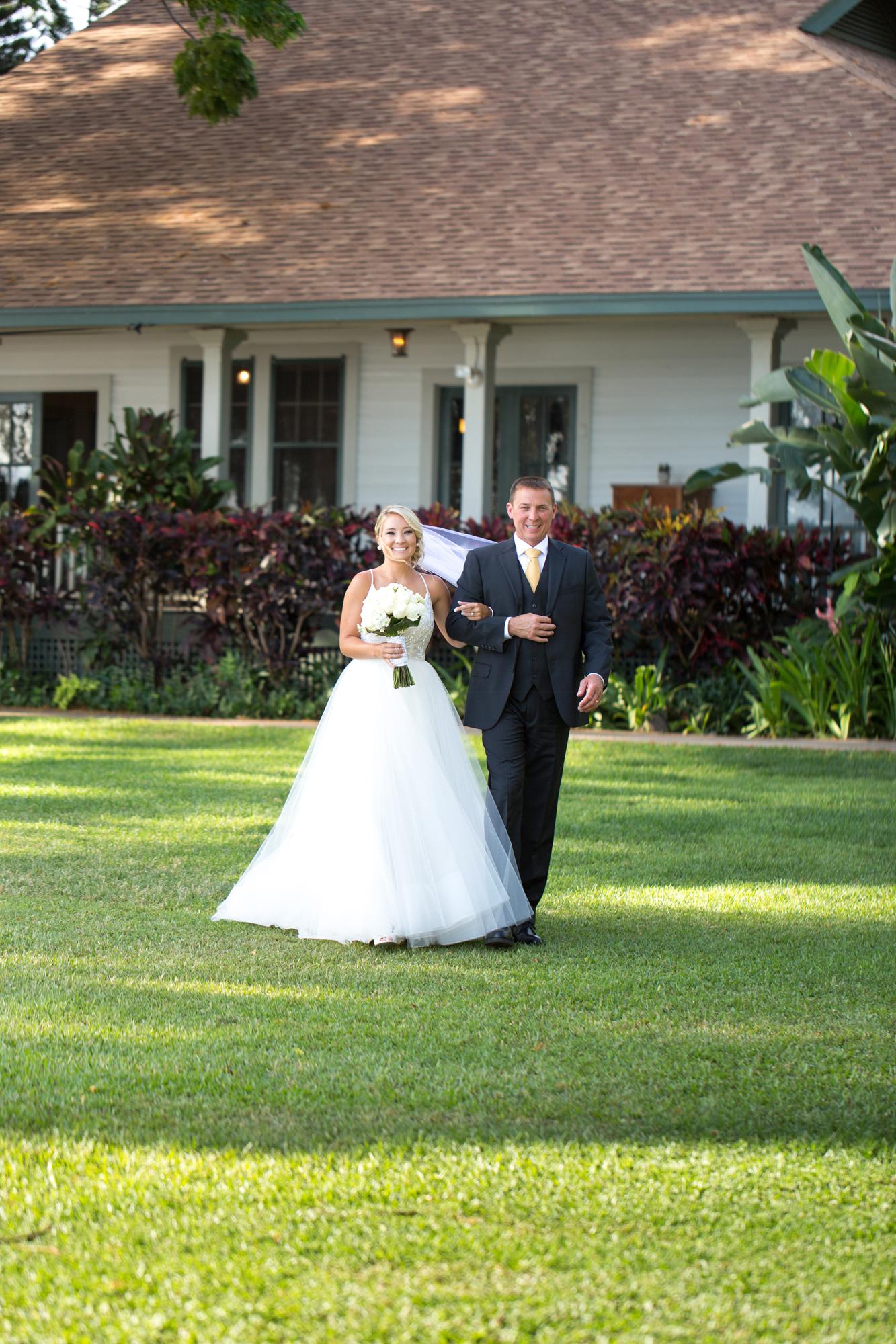 Maui Wedding At Olowalu Plantation House