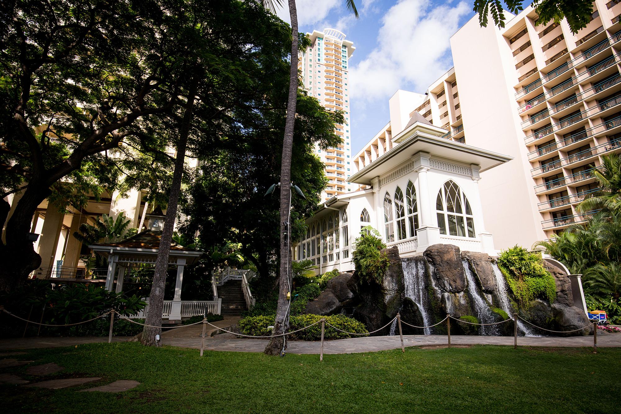 The Akala Chapel at Hilton Hawaiian Village