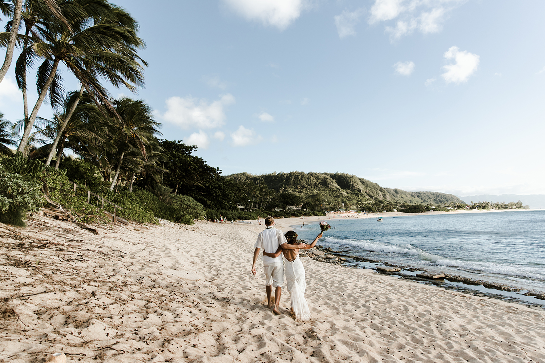 North Shore Oahu Wedding