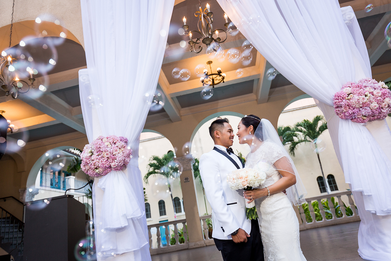 Oahu Downtown Wedding