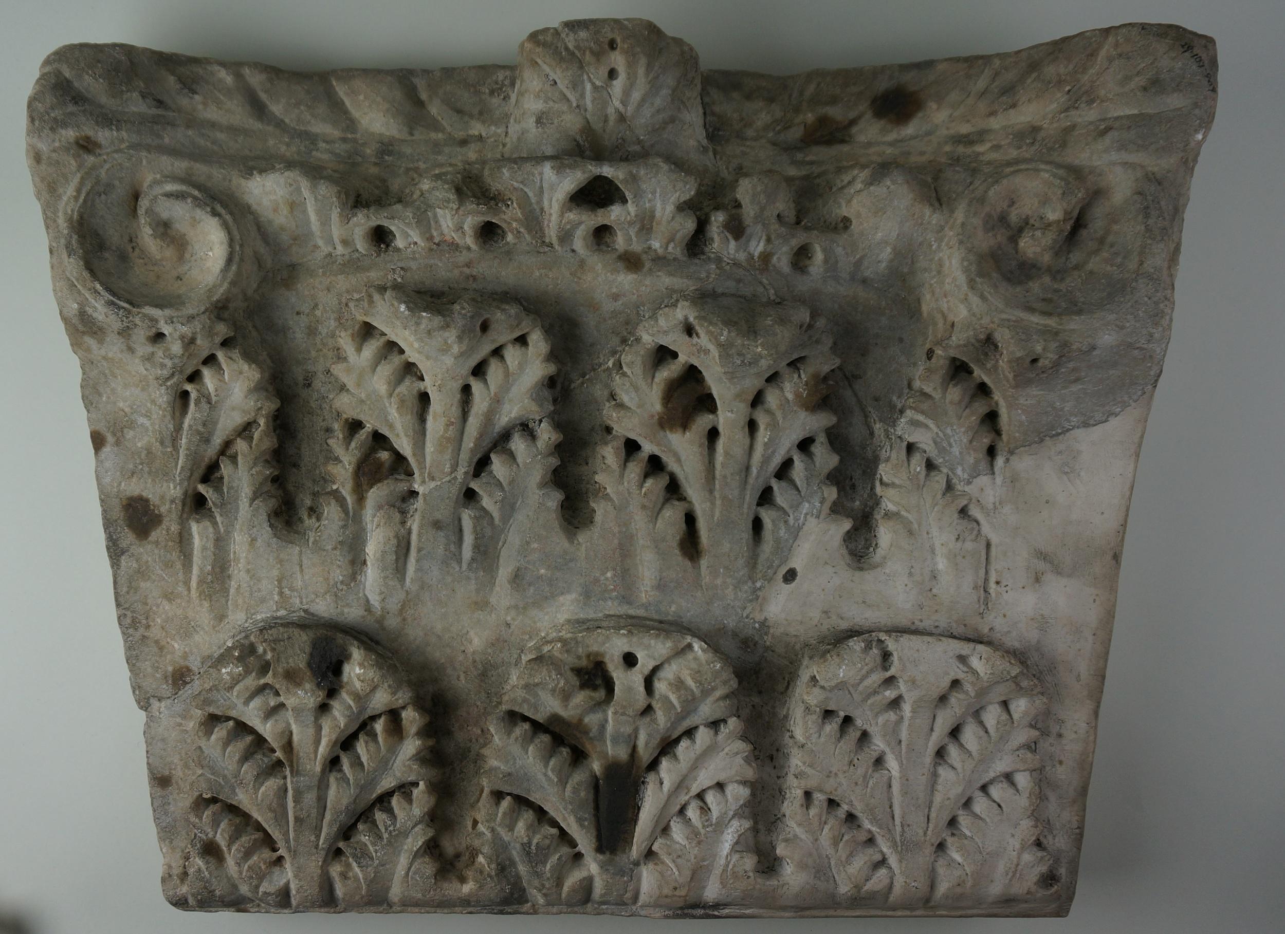 Capital Fragment, 5th c.