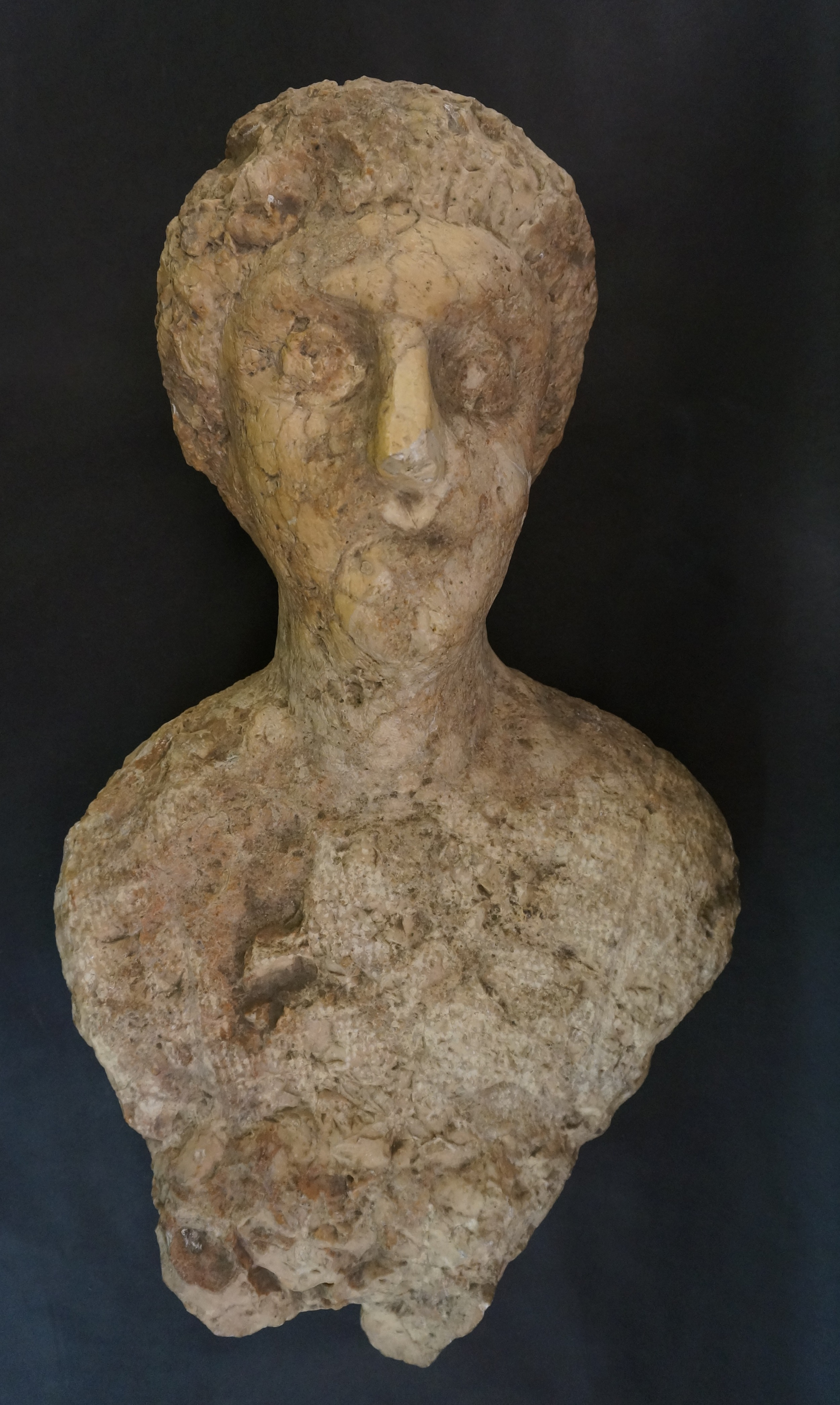 Male Funerary Bust