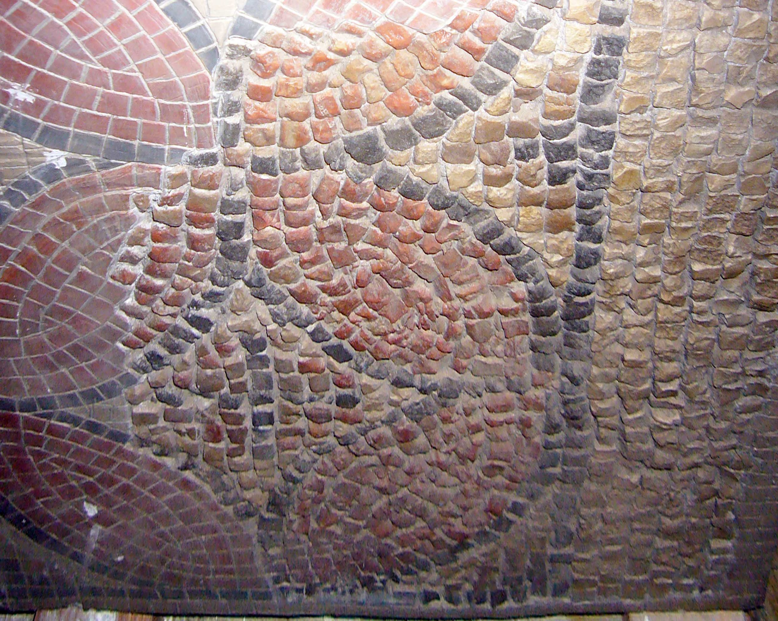 Mosaic with Intersecting Circles