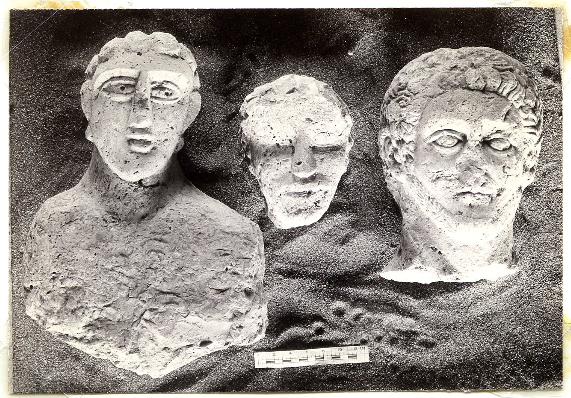 Funerary Busts from Tombs 43 and 74