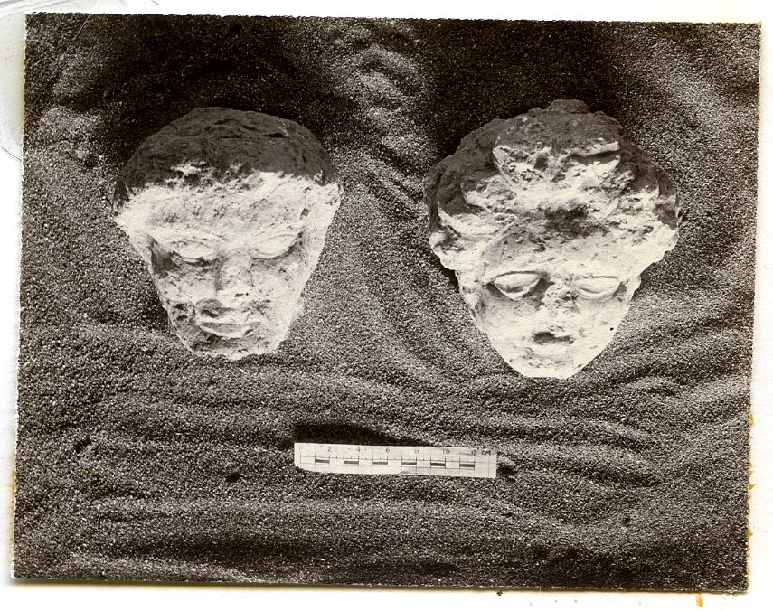 Funerary Busts from Tombs 1127 and 1117