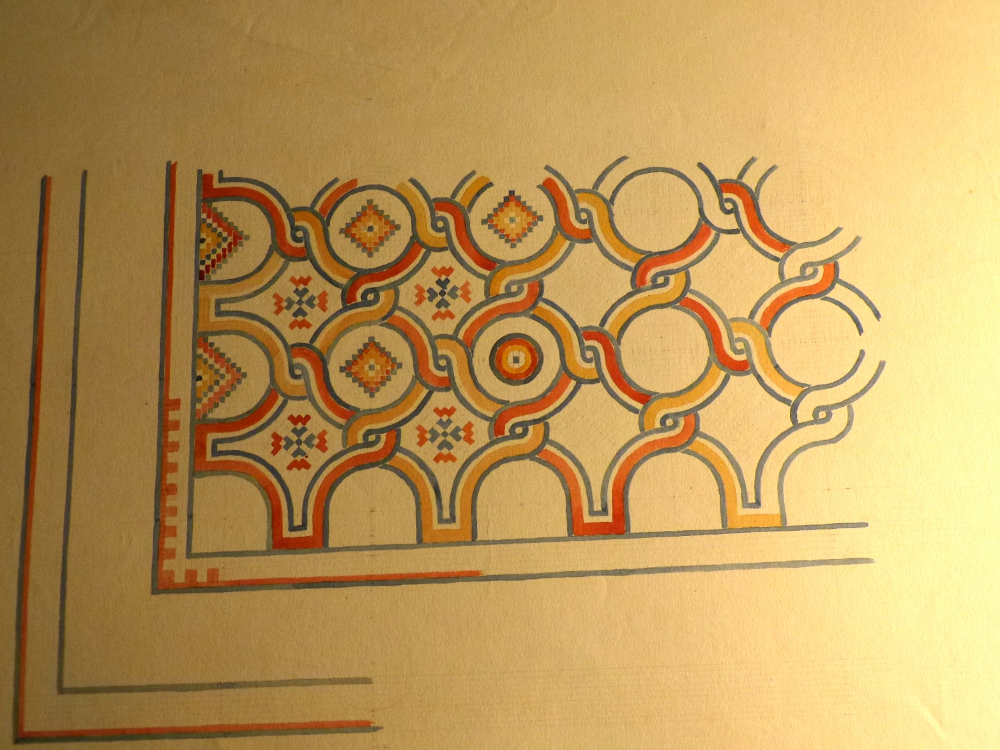 1:5 Scale drawing of mosaic