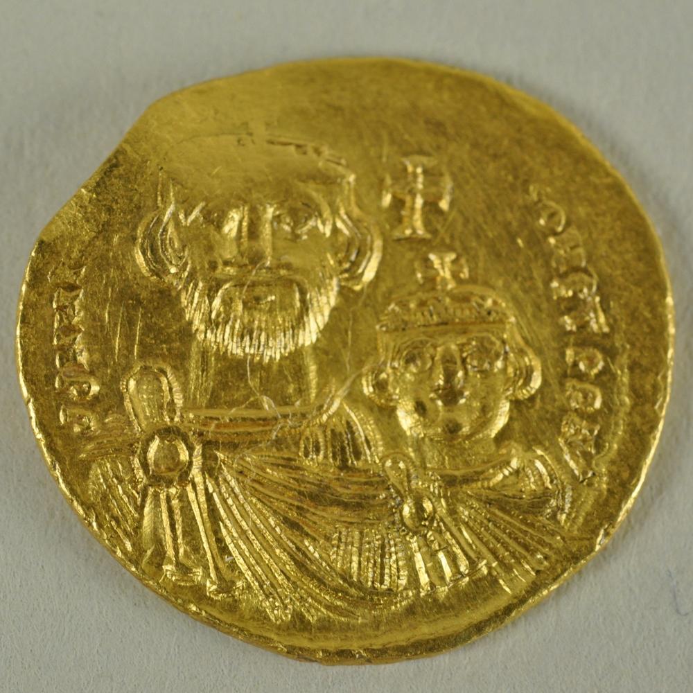 Solidus of Heraclius and Heraclius Constantine