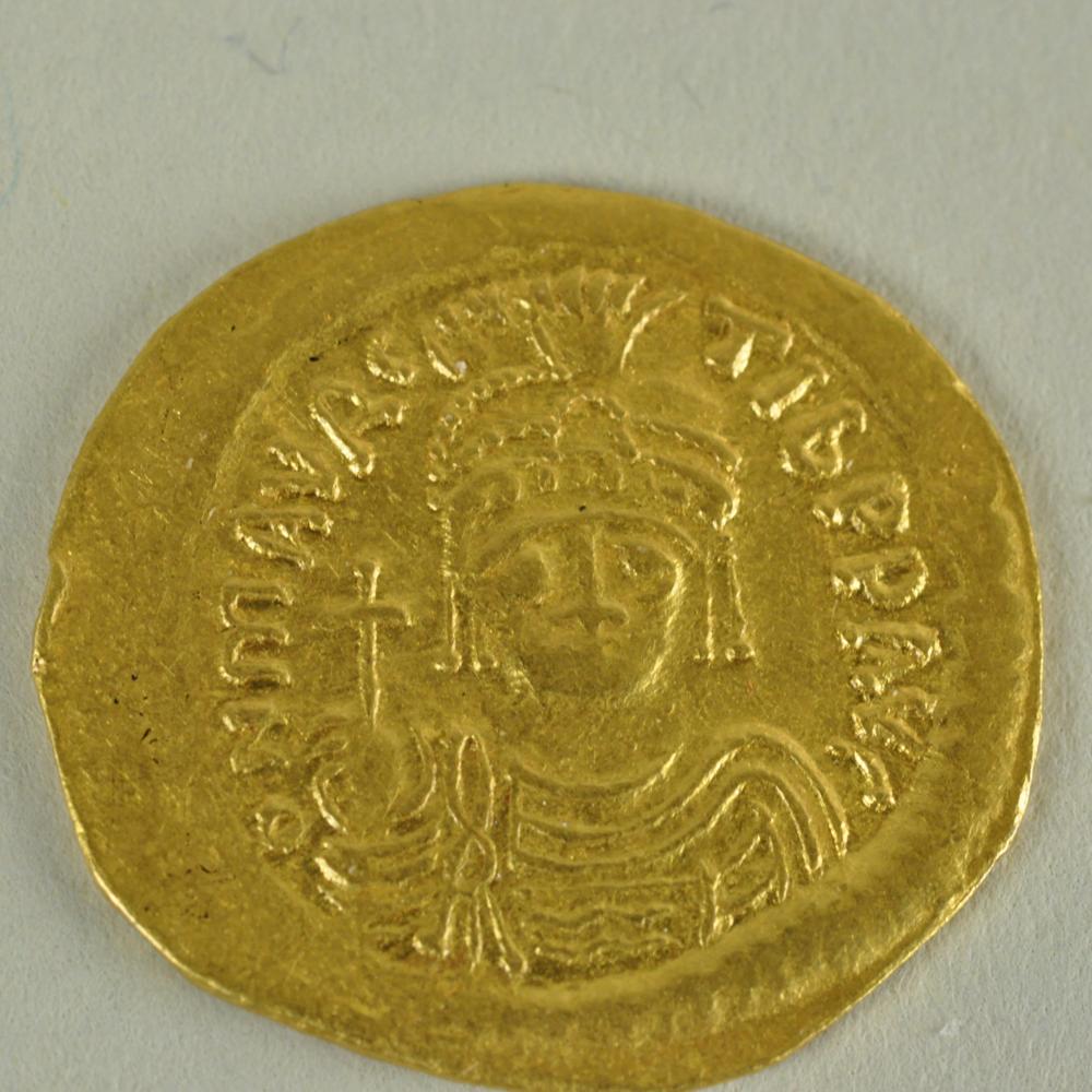 Solidus of Maurice Tiberius