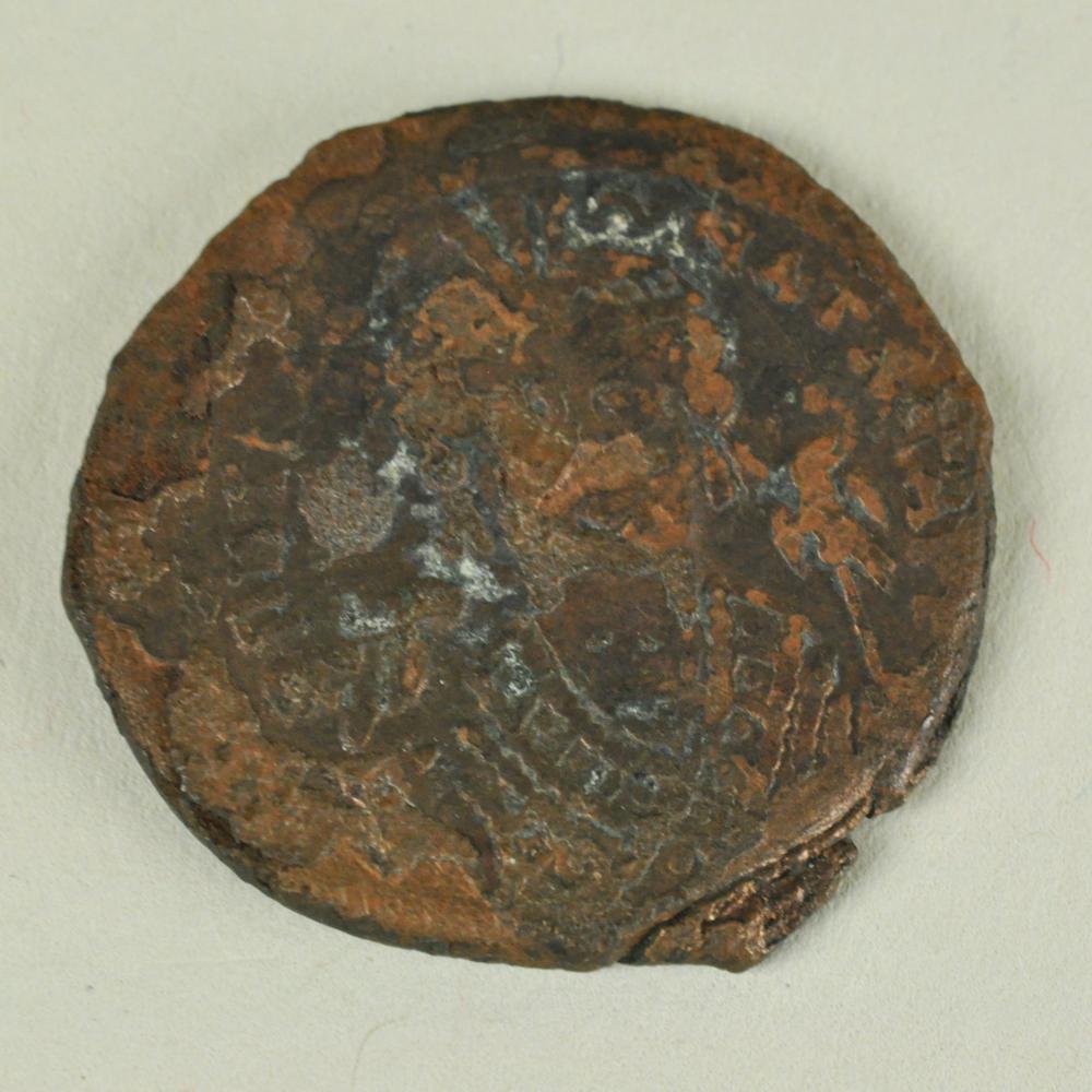 Follis of Tiberius II Constantine