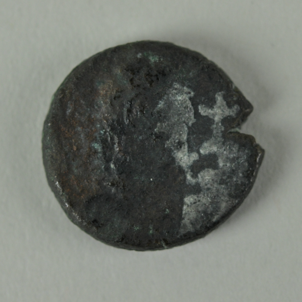 Bronze Coin with Bust from the Monastery