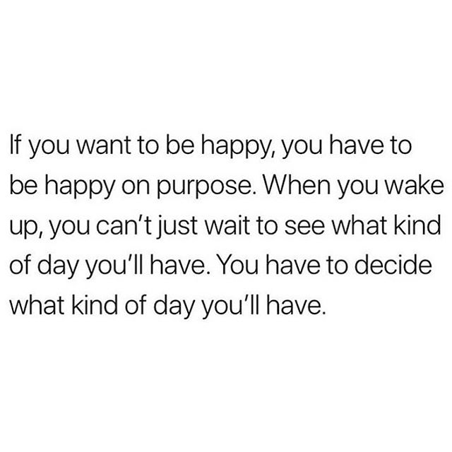 When life is stressful, many things start to feel out of our control. Sometimes this is true and sometimes it isn't. Take time to reflect on your circumstances and change what needs changing. If it is out of your control, change your attitude. It's on you. #findthefitinyou
