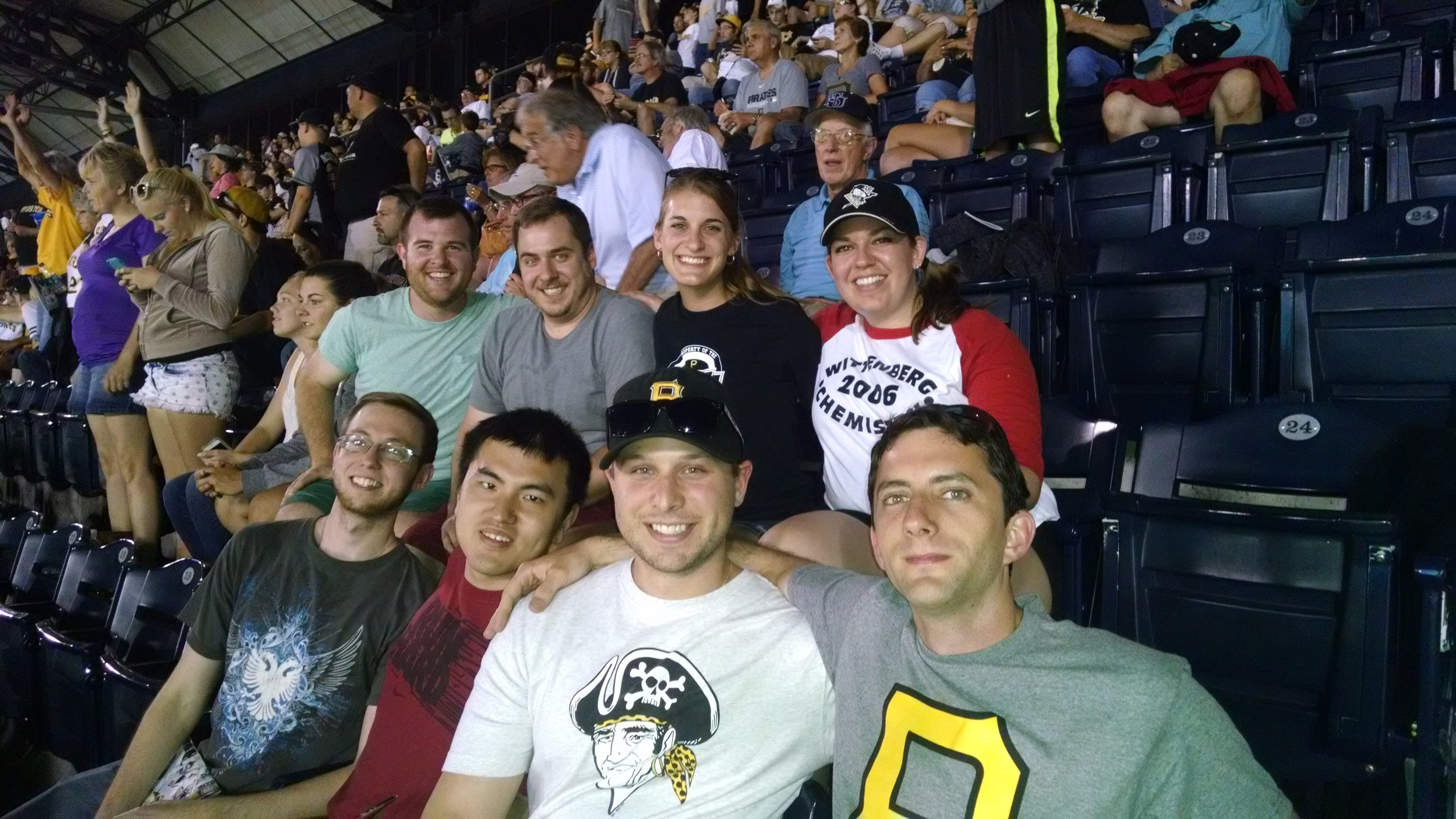 Pirates Game Summer 2014