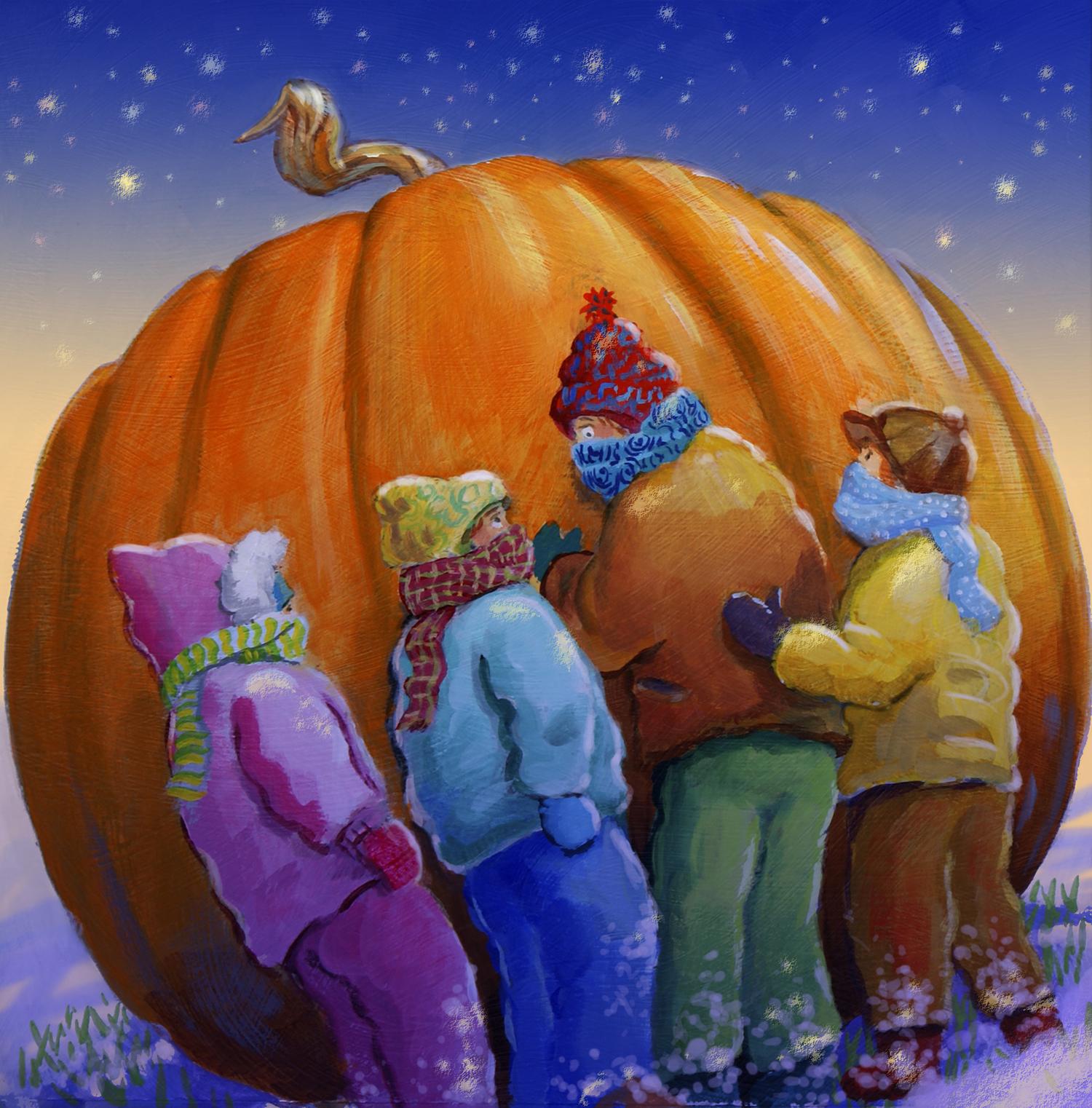 The Flatulent Pumpkin