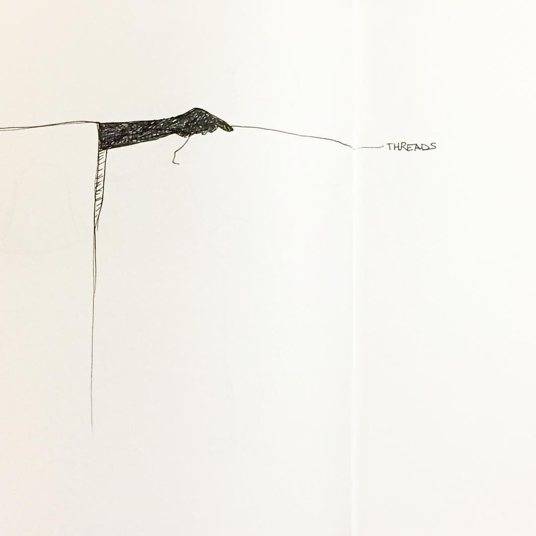concept sketch #threads