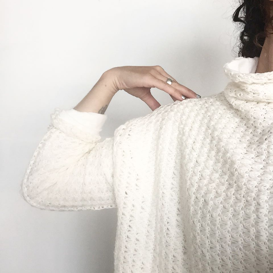 it's almost time for this…. #autumn2015 #aw15 #acgmpls #turtlenecksweater #croppedsweater #slowfashion #mplsdesign