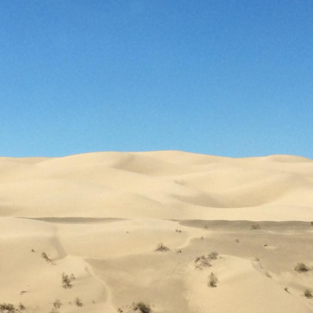 hello, California #sanddunes