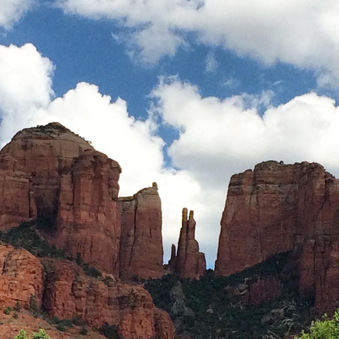 the real cathedral #cathedralrock #sedona #arizona #acgontheroad