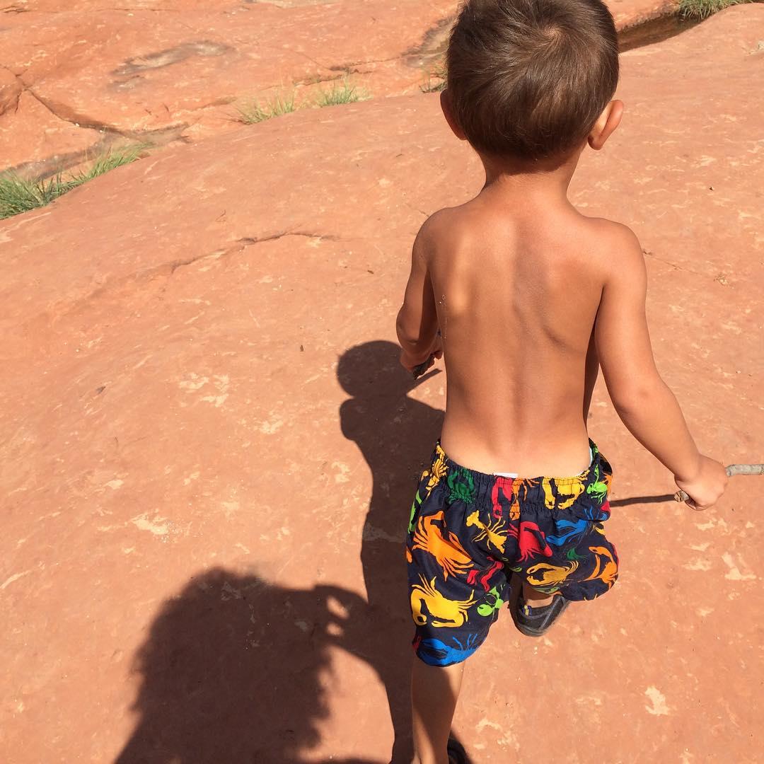 child adventures in Sedona #arizona #sedona @tess_ahmad