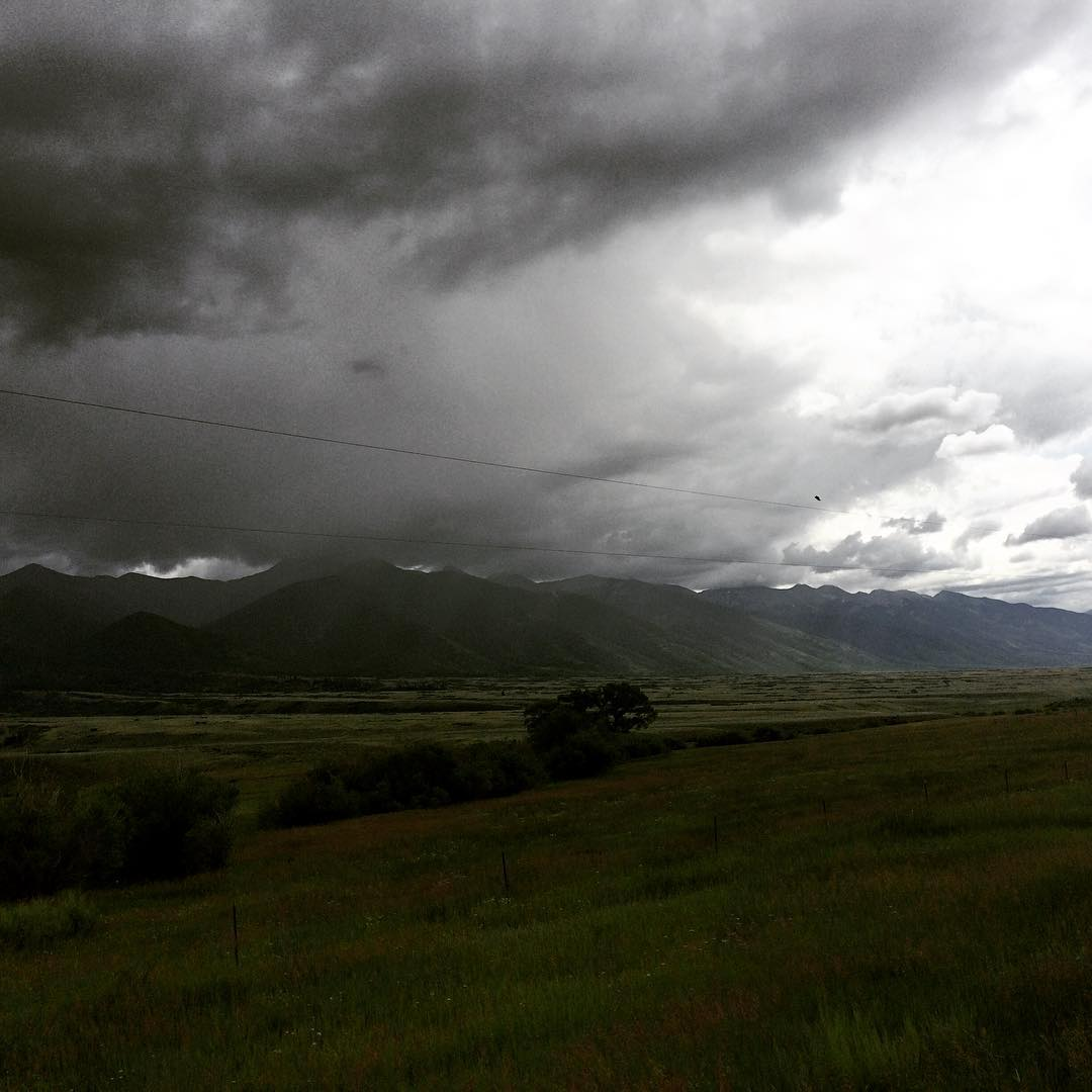 #stormclouds #wildwildwest #roadtrip