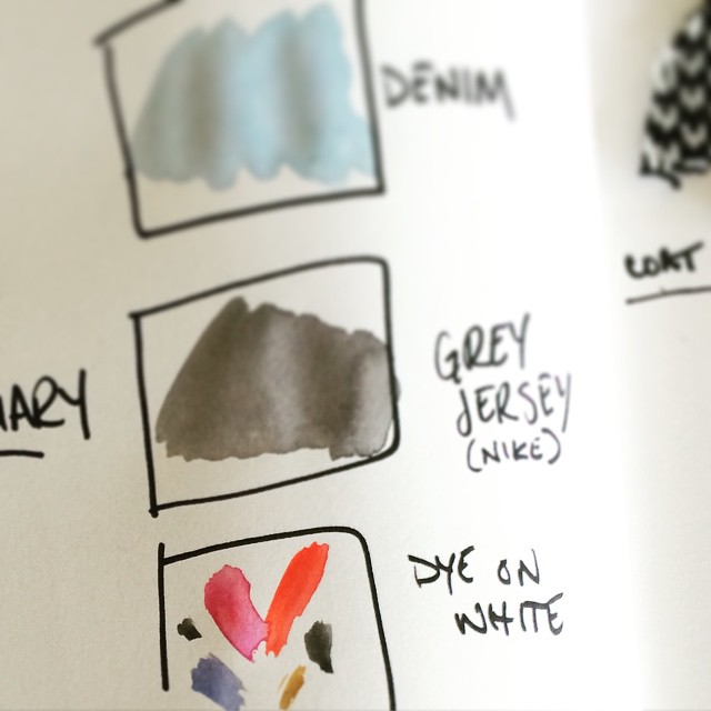 AW15 planning! so fun ✏️ #aw15 #design #colorpalette #acgmpls