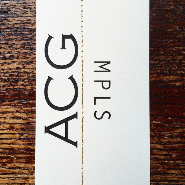 new business cards just in time for the trunk show tonight… #acgmpls #goldthread #business #gallery360springtrunkshow