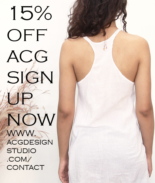 SIGN UP FOR OUR NEWSLETTER AND RECEIVE A 15% OFF COUPON TO SHOP THE SPRING COLLECTION AT ACG DESIGN STUDIO!   http://www.acgdesignstudio.com/contact/