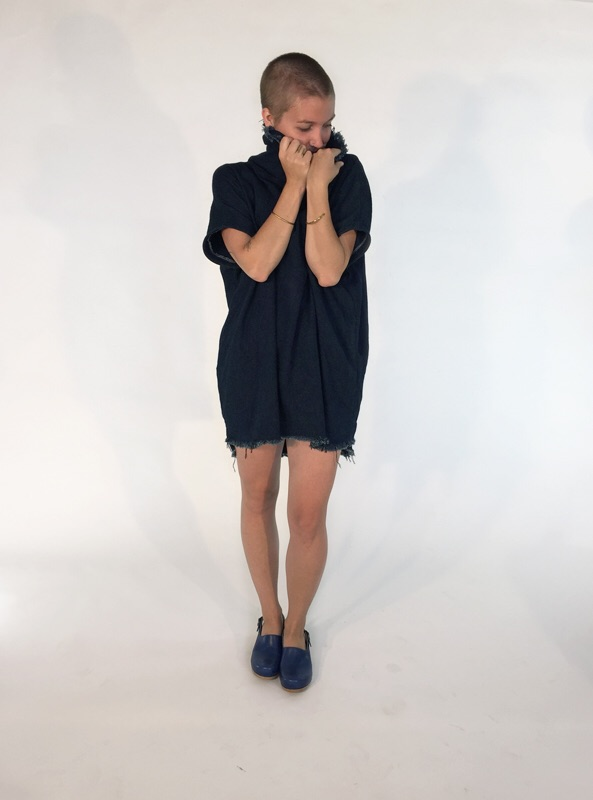 raw denim tunic dress- from Envision Mpls and available online at ACG MPLS or in person at Showroom