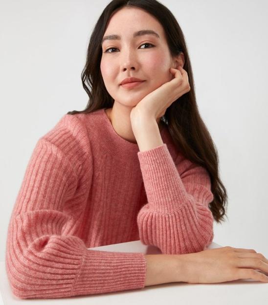 Pure Collection Cashmere Gassato Sweater, $170