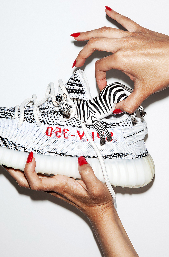 photography by kev foster for philip browne_Yeezy 350 v2 zebra 1