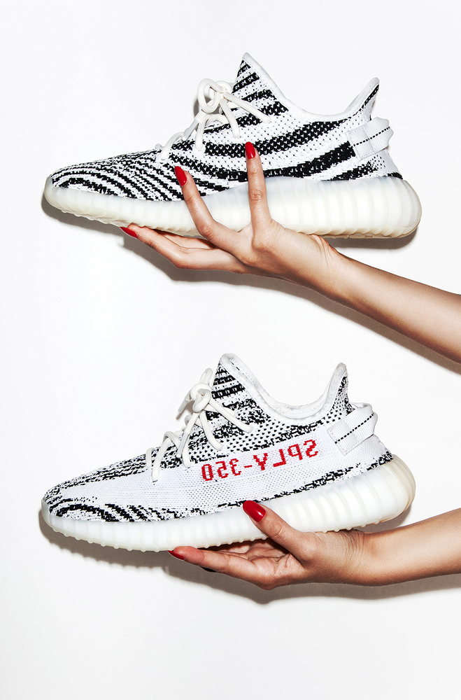 photography by kev foster for philip browne_Yeezy 350 v2 zebra 3