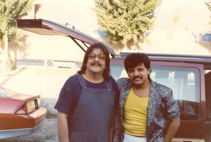 Aquí con toda la leyenda de la Música Tropical en México, el inolvidable Chico Ché.