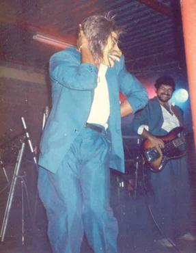 """En 1987, grabamos nuestro primer monstruo: """"El Hombre Lobo"""", las bromas con este personaje no se dejaron esperar."""