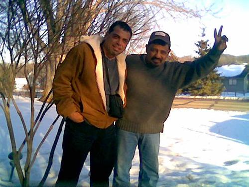 Raymundo y Juan Carlos nunca perdieron el asombro de ver la nieve y comentar lo maravilloso que resulta éste espectáculo natural. Mundo estaba feliz y Juan Carlos ni se diga.