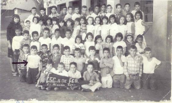 """Mi etapa de primaria, es para mí, realmente memorable.Nunca olvidaré a mi Escuela """"16 de Febrero""""."""