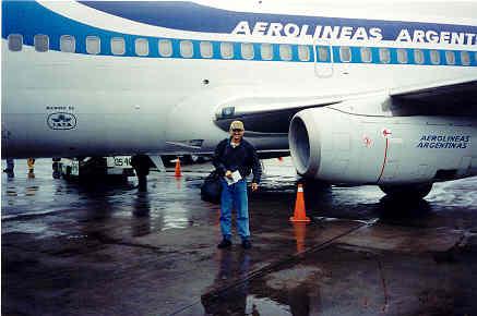 Mi experiencia en Argentina ha sido una de las mas bellas. Buenos Aires nos recibió en 1996 y yo me enamoré de ella ...¡para siempre!