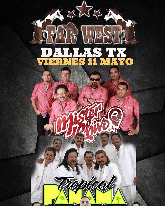 Nos vemos el 11 de Mayo en Dallas, Tx. #farwest @farwestdallas