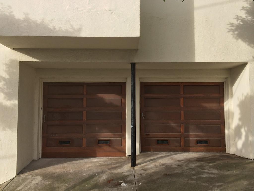 Added Garage Door Vents