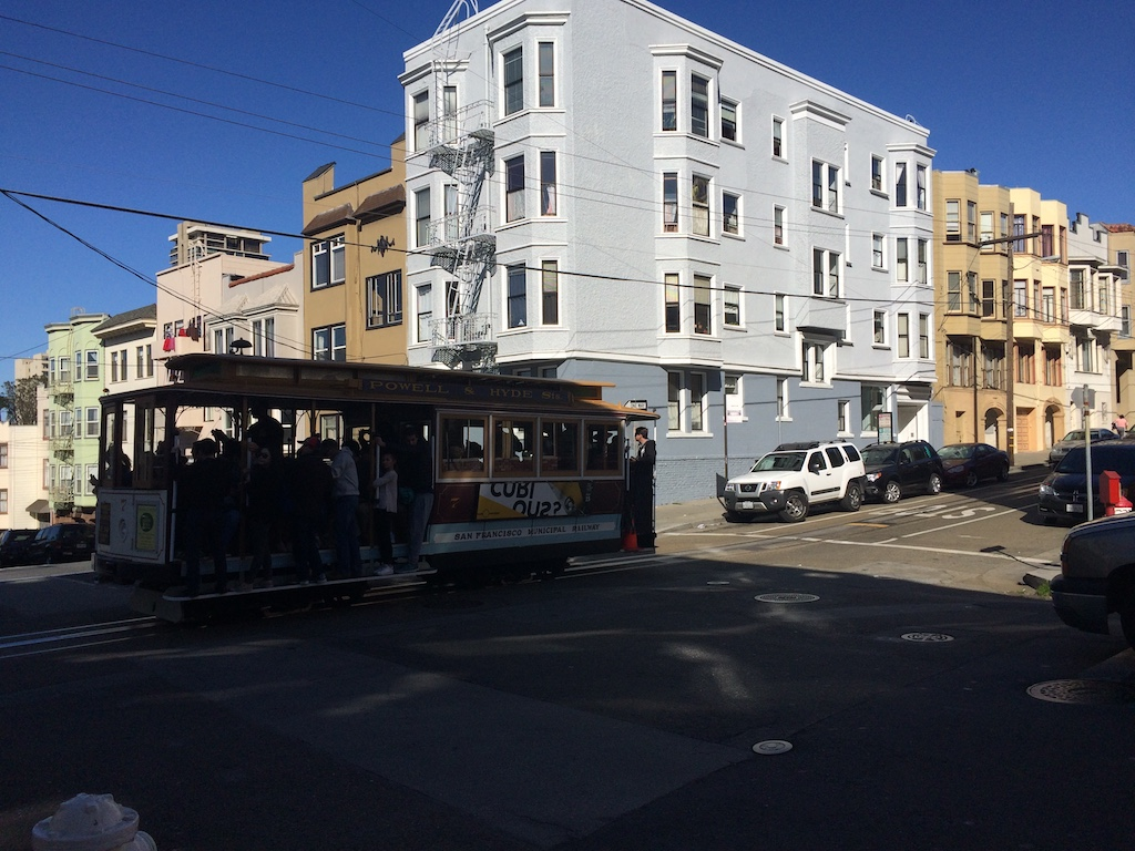 On The Cable Car Line