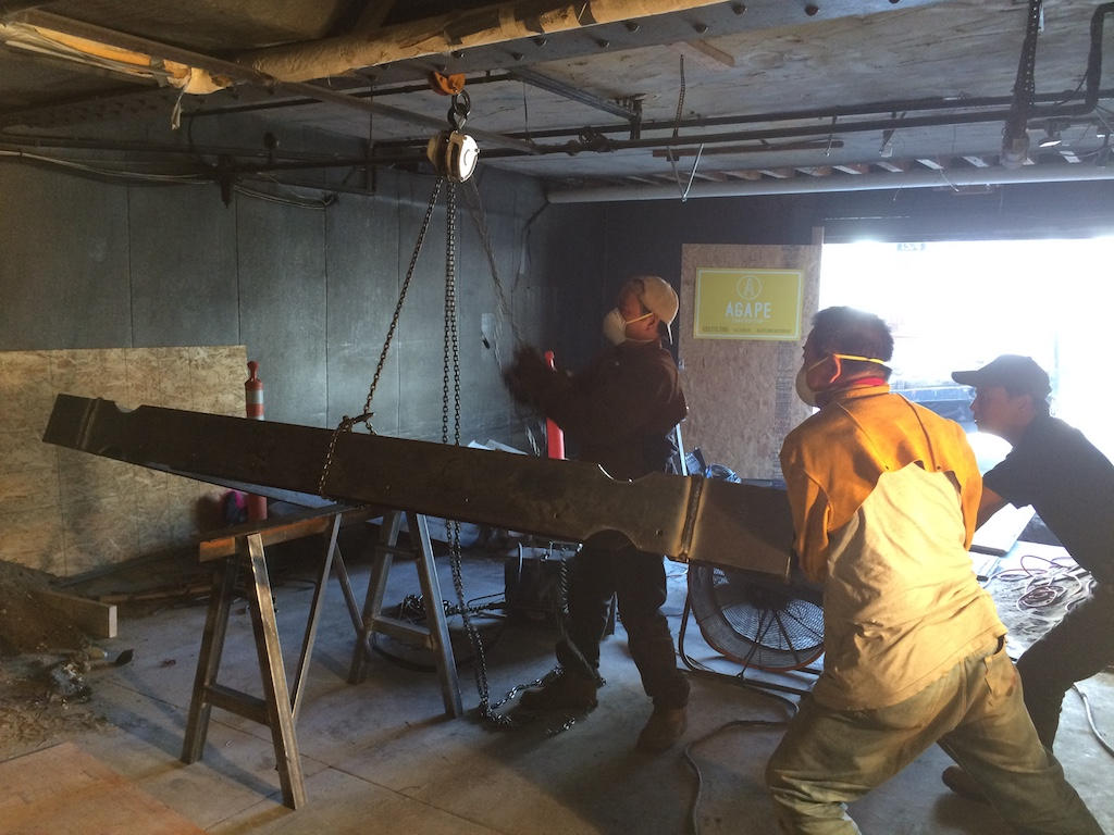 On-Site Steel Fabrication
