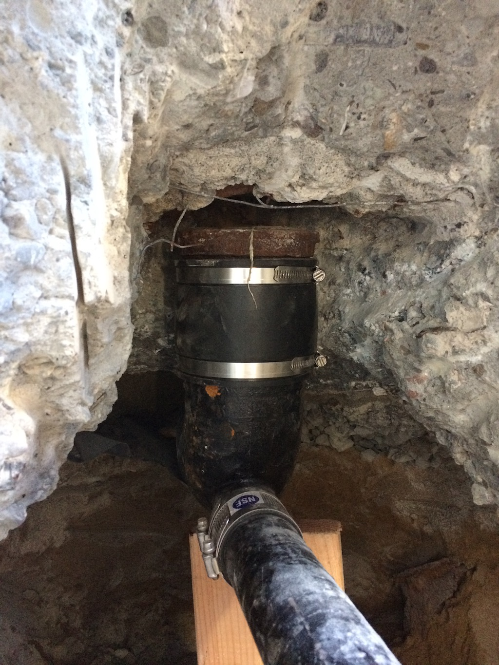 Attach To Existing Plumbing