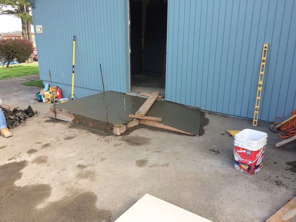 New Delivery Ramp