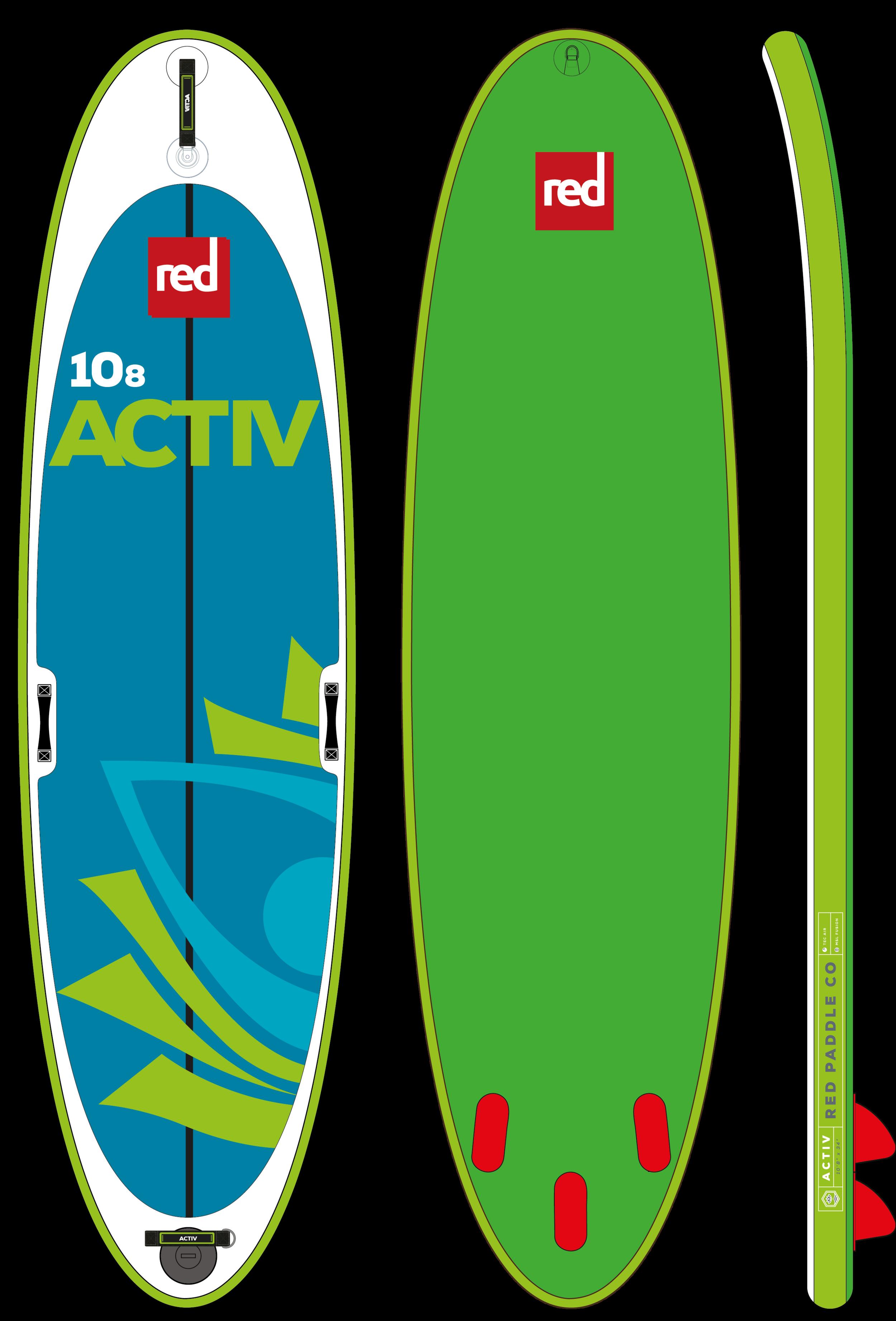 10'8 Active  - 10'8 x 34