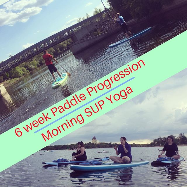 Two great courses starting SOON in Regina! - -   Our 6 week Paddle Progression starts this week (July 18th) $225 (including board rental) Dates: Thursday evenings, July 18th - August 22nd - 7:15-8:15pm  Still time to register: https://two-roots-yoga-queen-city-sup.square.site/product/6WeekPPJuly18th/14?cs=true & - -   Our 6 week Morning SUP Yoga Class starts next week (July 24th) $170 (including board rental)  Dates: Wednesday mornings, July 24th - August 28th - 9-10am  Spaces still available: https://two-roots-yoga-queen-city-sup.square.site/product/SUPYogaJuly24th/18?cs=true