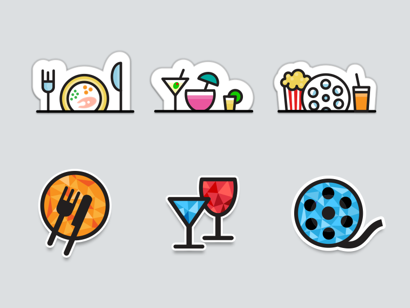 telenav app event icons