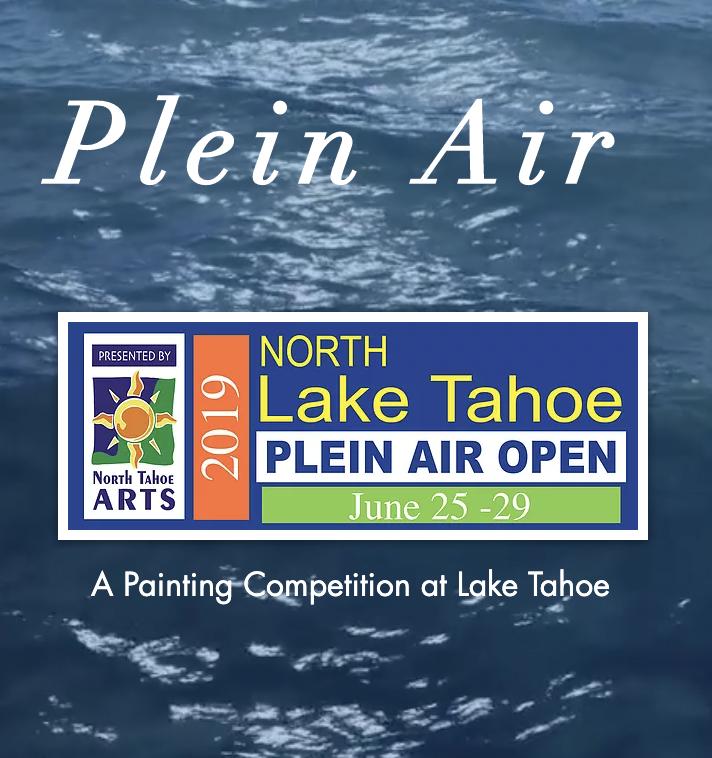 Lake Tahoe Plein Air - June 25 - 29th, 2019