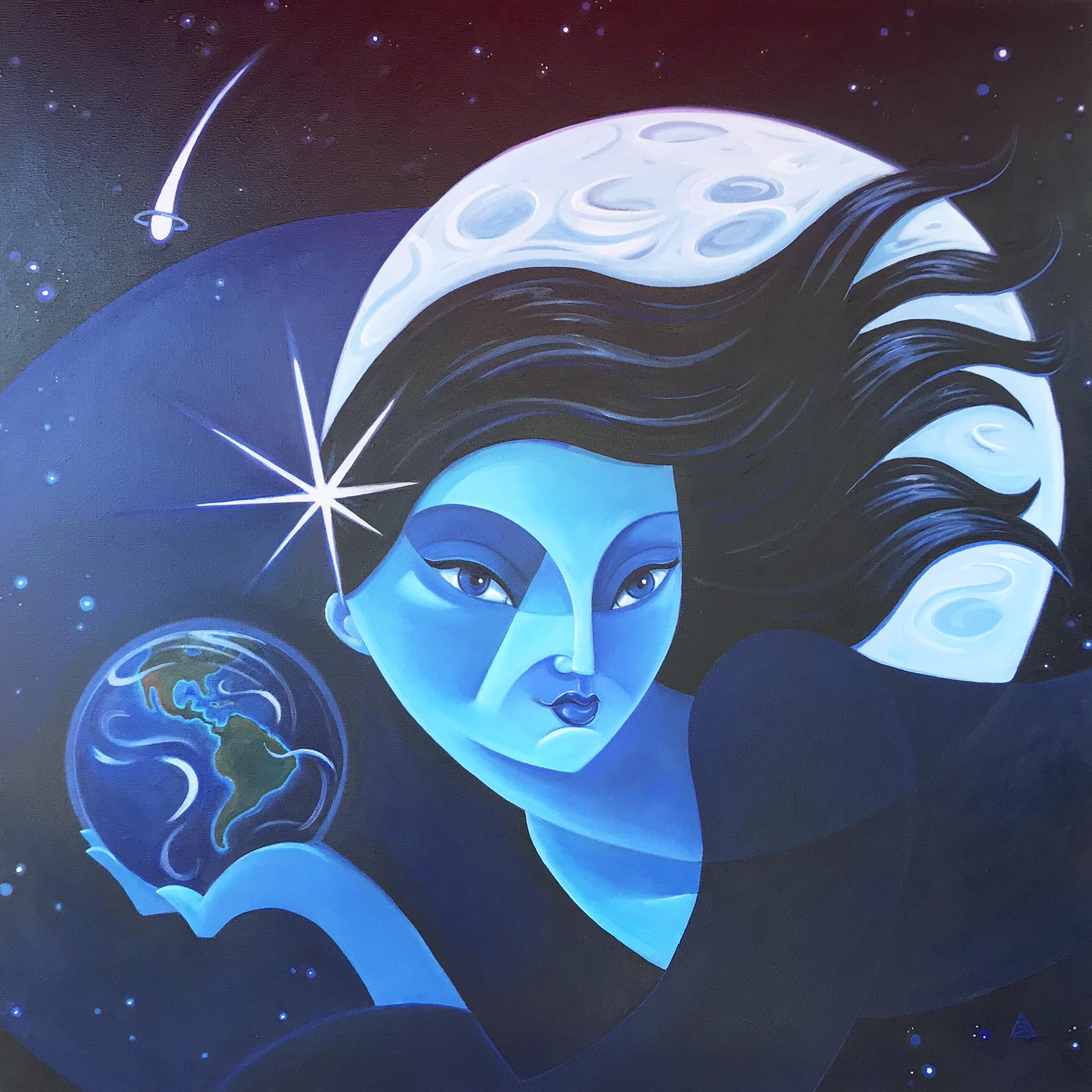 Luna, Goddess of the Night Sky