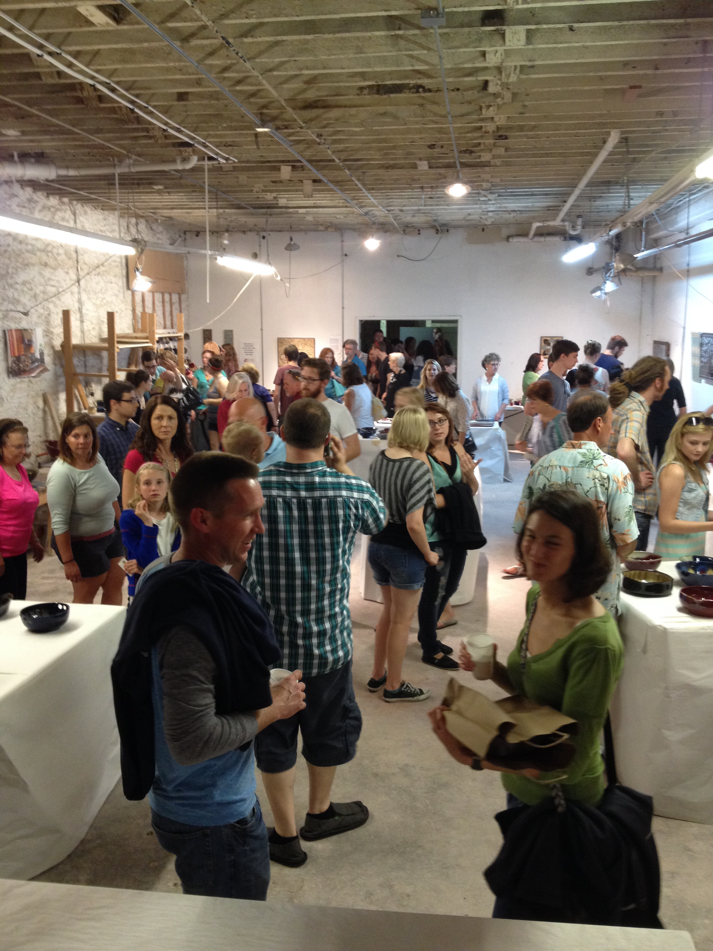 A busy First Friday