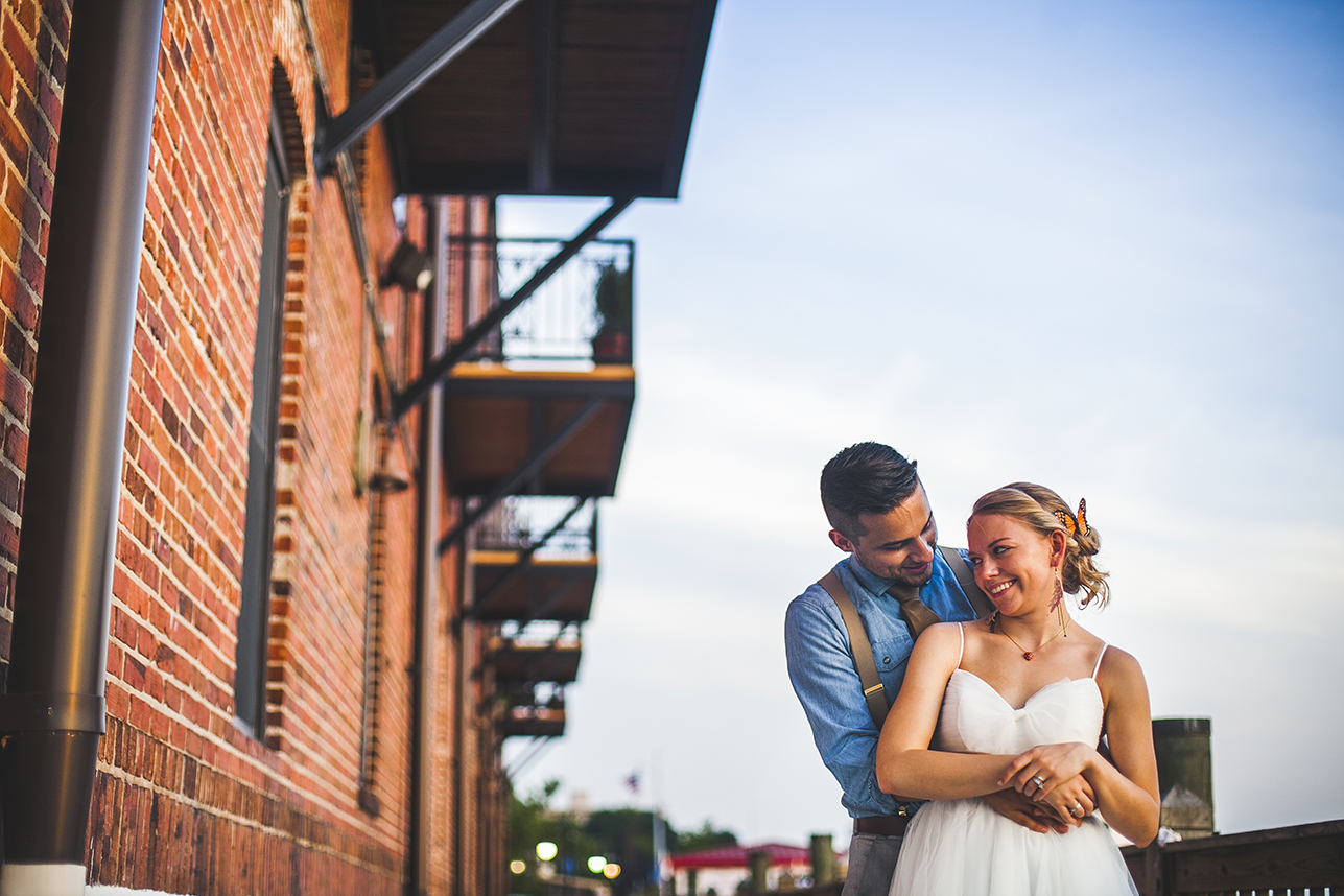 The River Room Wedding