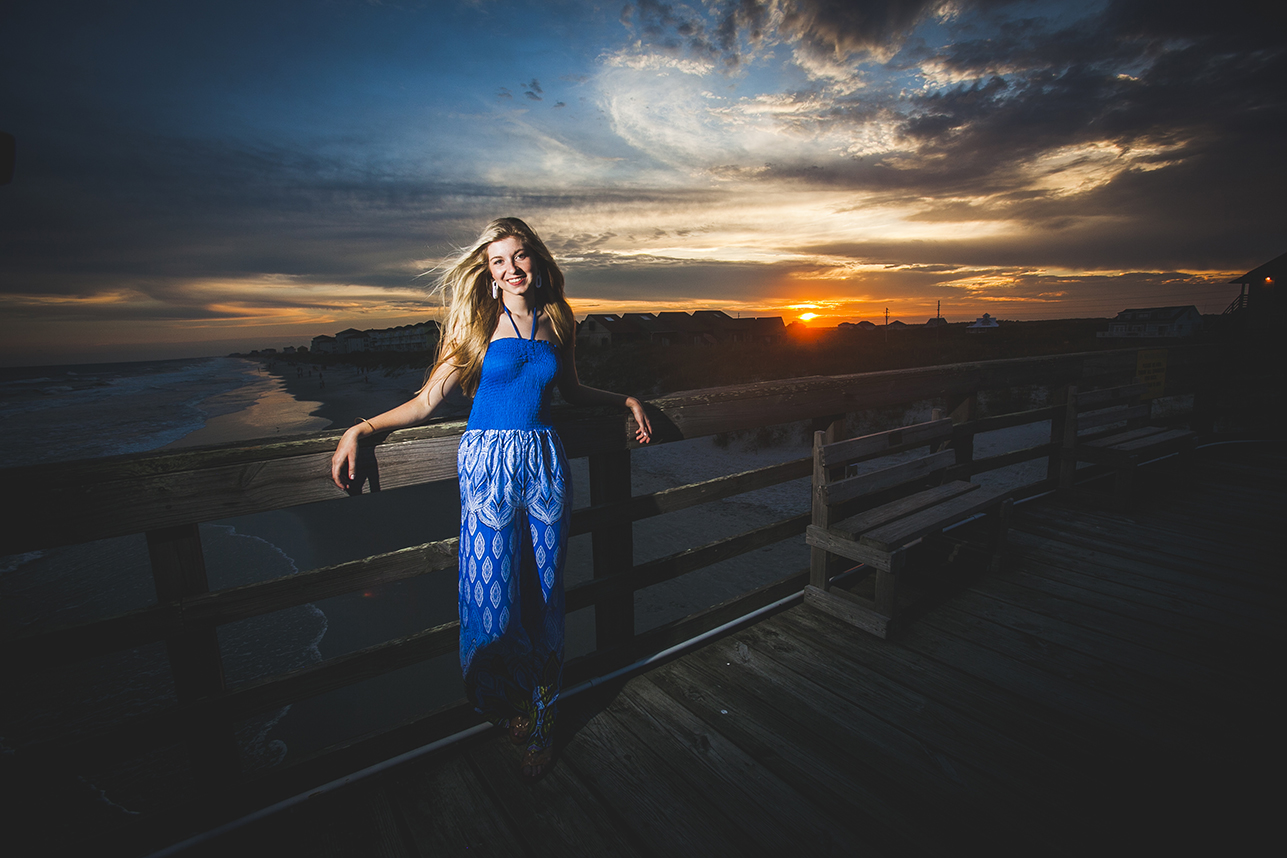 Topsail Beach NC Senior Photography