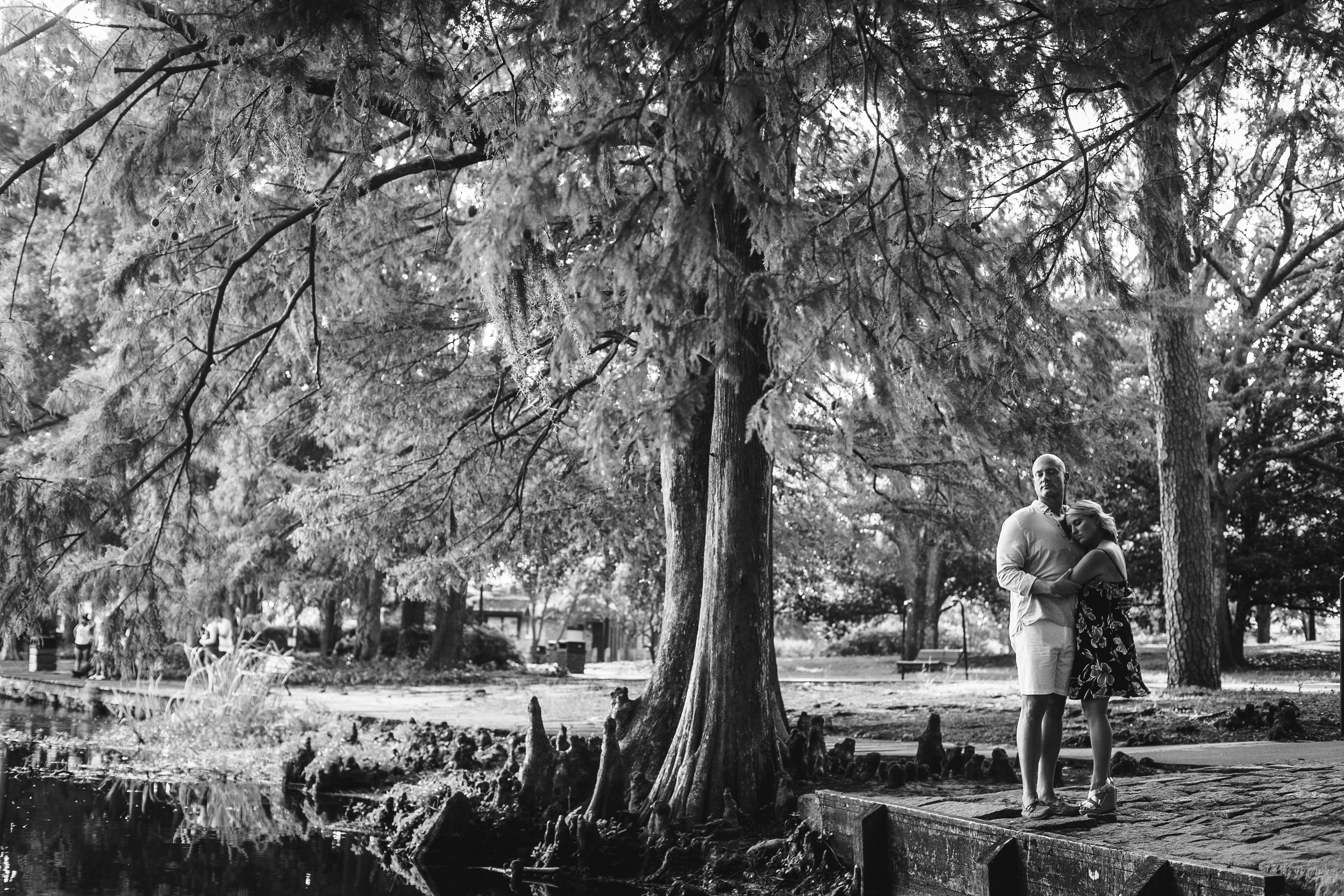 Greenfield Lake Park Engagement